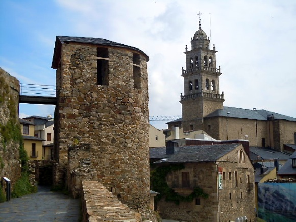 Iglesia from Castle, Ponferrada, tower
