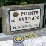 Puente de Santiago Irun Spain Camino del Norte