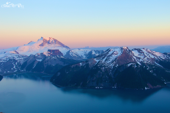 Sunset Garibaldi Lake mount table price