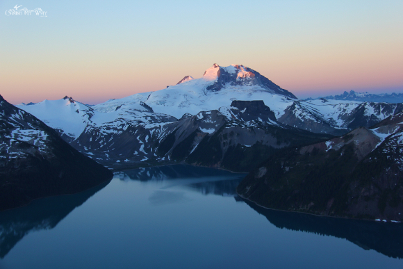 Garibaldi Park lake Panorama Ridge sunrise