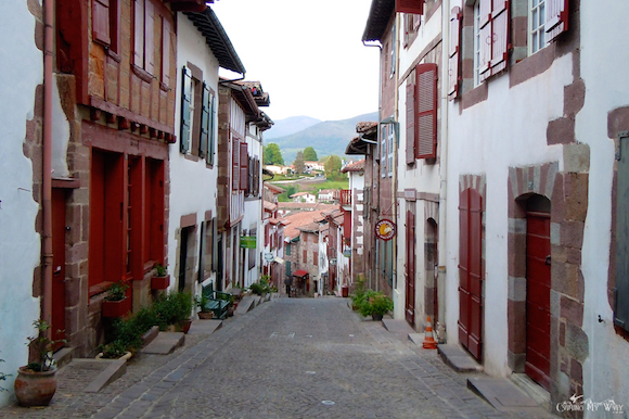 On the camino de santiago st jean pied de port to the - Hotel des pyrenees st jean pied de port ...